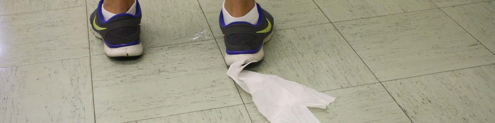 Image result for toilet paper on shoe